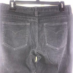 Eddie Bauer 🍁 Fall 🍁Gray Corduroy Pants Size 4S